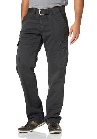 Man's World Cargo kalhoty, Grey Connection khaki - N 58