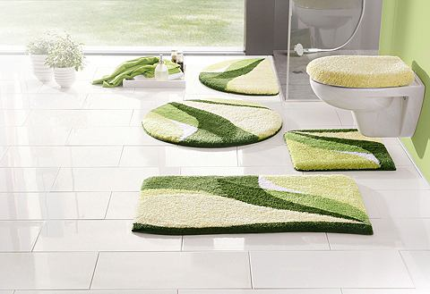 my home Koupelnový kobereček, set pro závěsné WC, »Magnus«, výška 20 mm, protiskluzová úprava