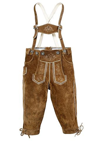 Dětské kožené kalhoty ve stylu pumpek, Marjo