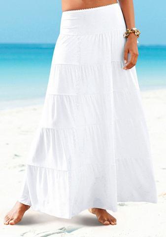 Beachtime Dlouhá sukně Bílá 52/54