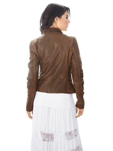 Kožená bunda