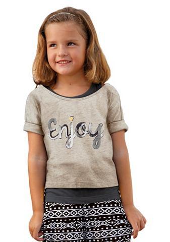 Tričko + top, pro dívky