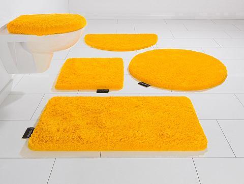 Koupelnový kobereček, 3-dílná souprava pro standardní WC, Bruno Banani, »Lana«, výška 25 mm, protiskluzová úprava
