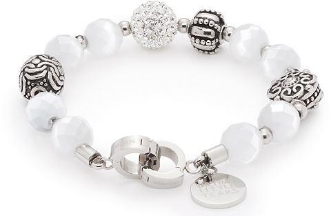 Jewels by Leonardo Náramek se skleněným kamenem, »darlin'scharisma bíla, 015899«