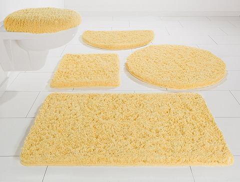 Koupelnová předložka, 3-díl. před závěsné WC, Möve »Superwuschel«, mikrovlákno, výška 40 mm, protiskluzová úprava