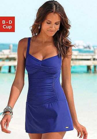 Lascana Plavkové šaty modrá - Košík D 54(115)