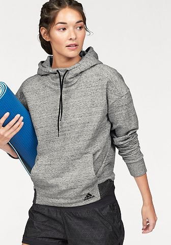 adidas Performance Mikina s kapucí »COTTON FLEECE HOODIE«