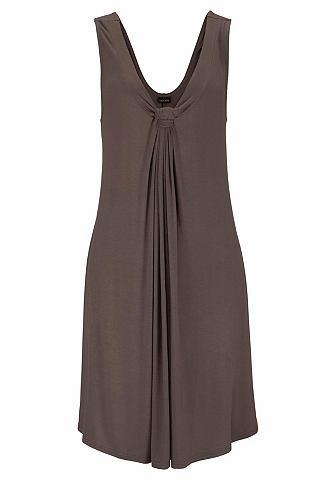 Lascana LASCANA Plážové šaty bordó 54