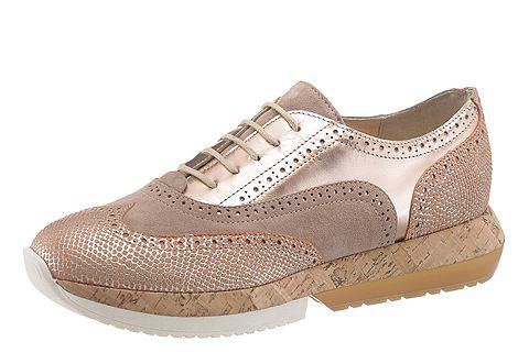 Manas Šněrovací boty na platformě