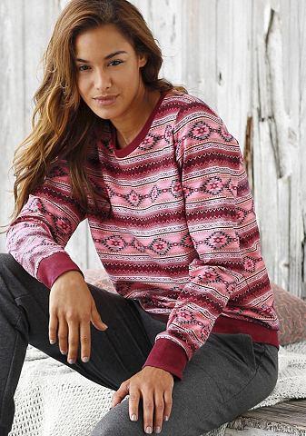 Buffalo Klasické domácí oblečení s norským vzorem