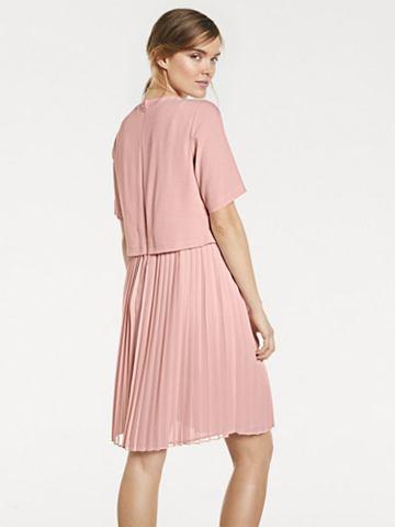 RICK CARDONA by heine Plisované šaty s krátkým rukávem