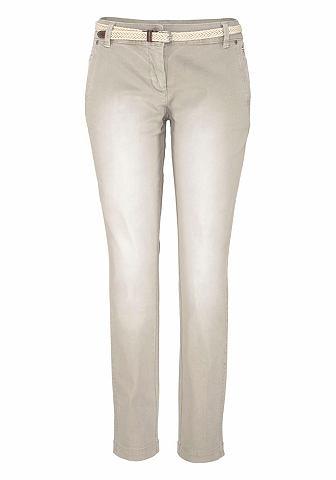 s.Oliver RED LABEL Kalhoty ve stylu Chino »Smart Chino« (s páskem)