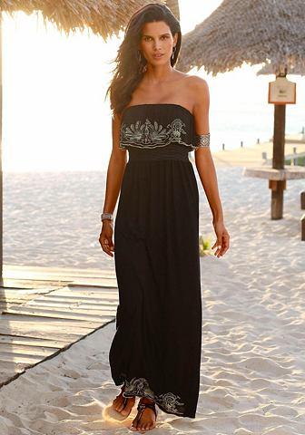 s.Oliver s.Oliver RED LABEL Plážové dlouhé šaty černá 44