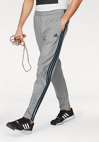 adidas Performance adidas Performance Kalhoty na jógu »ESSENTIALS 3S TAPERED SINGLE JERSEY PANT« černá-bílá - dlouhé L (52-54)