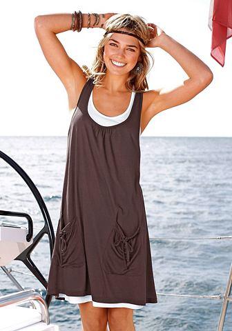 Beachtime Plážové šaty khaki 40