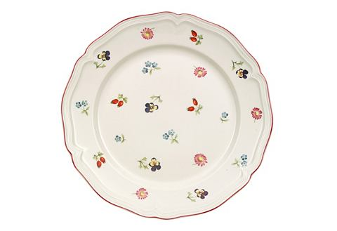 Velký talíř, Villeroy & Boch »malé kytičky« (2 ks)