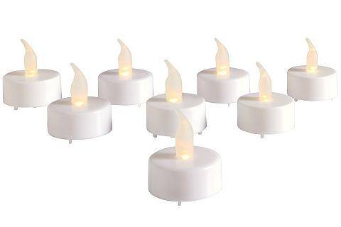LED čajové svíčky (8 ks)