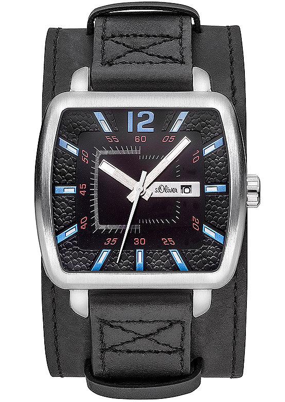 s.Oliver RED LABEL Náramkové hodinky, s.Oliver černá