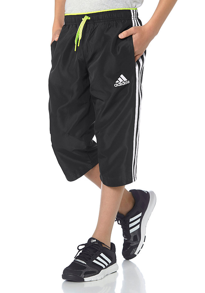adidas Performance YB LR T 3/4 PANT 3/4 sportovní kalhoty