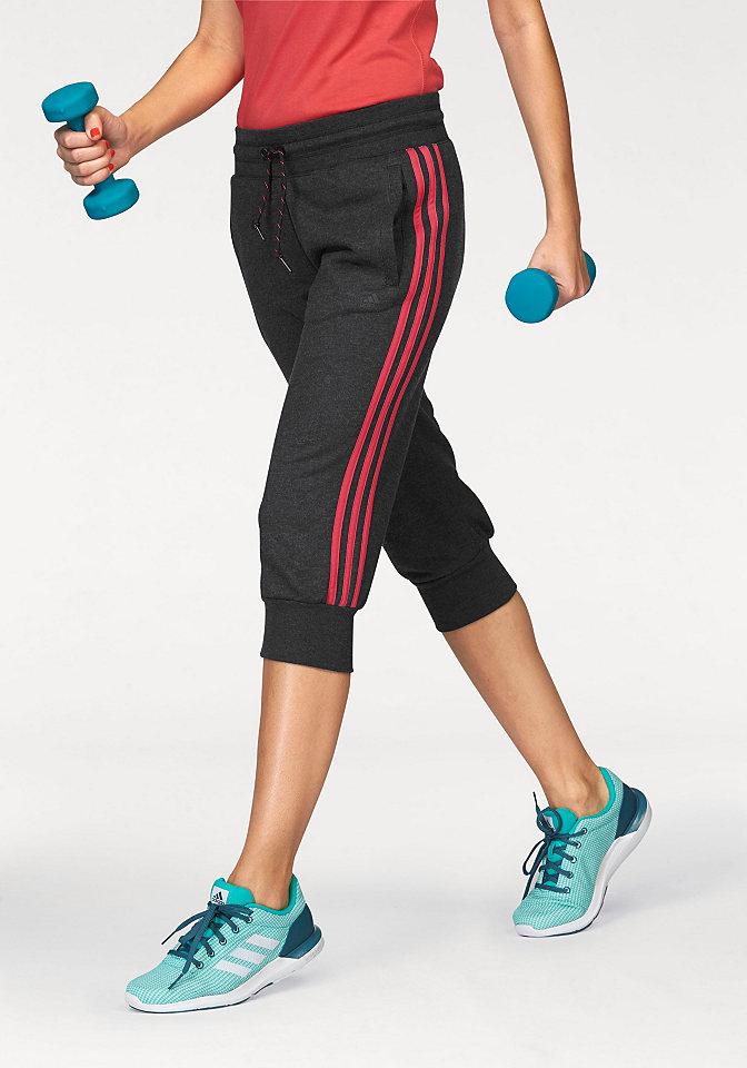 adidas Performance ESSENTIALS 3S 3/4 PANT 3/4 pumpkové kalhoty