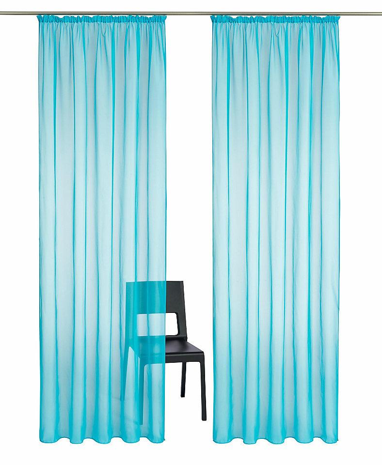Záclona my home »Cluny« řasící pásek (2 ks)