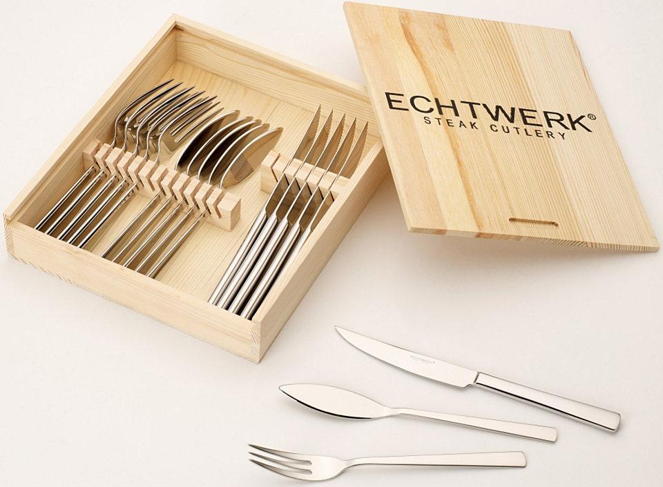 Steakový příbor Echtwerk »SARRE« (18-dílný sada)