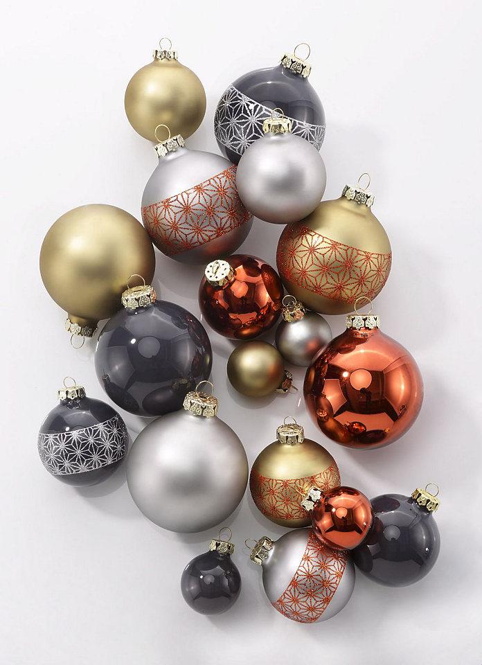 Thüringer Vánoční dekorace - koule, Made in Germany, 30 ks