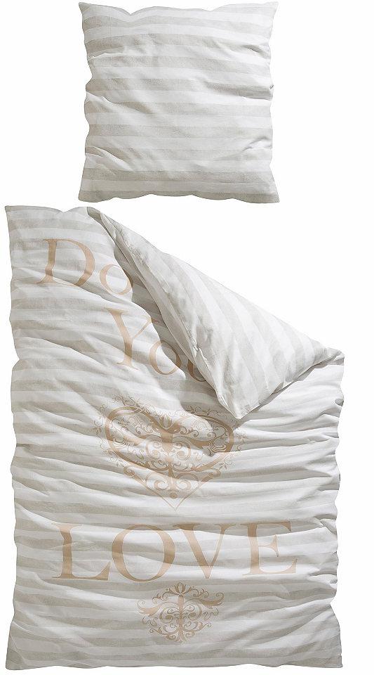 Ložní prádlo, my home Selection »You« a nápis »Do what you?«