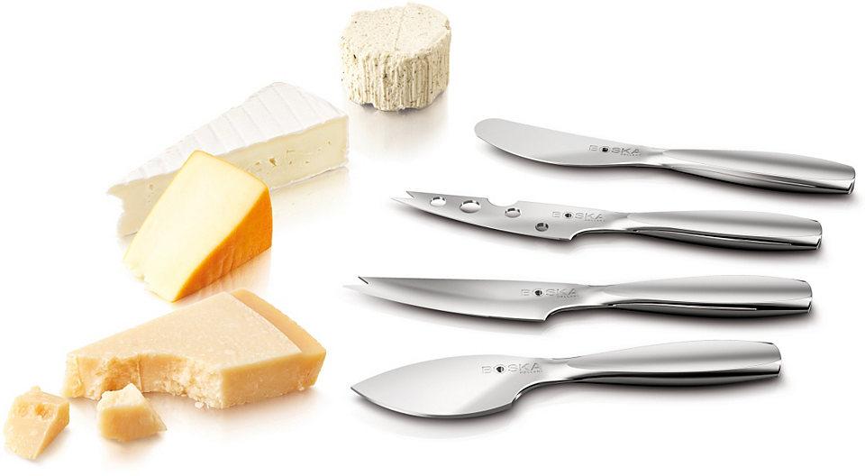 BOSKA Holland Nože na sýr, z nerezovej ocele, 4-dílné »Mini«