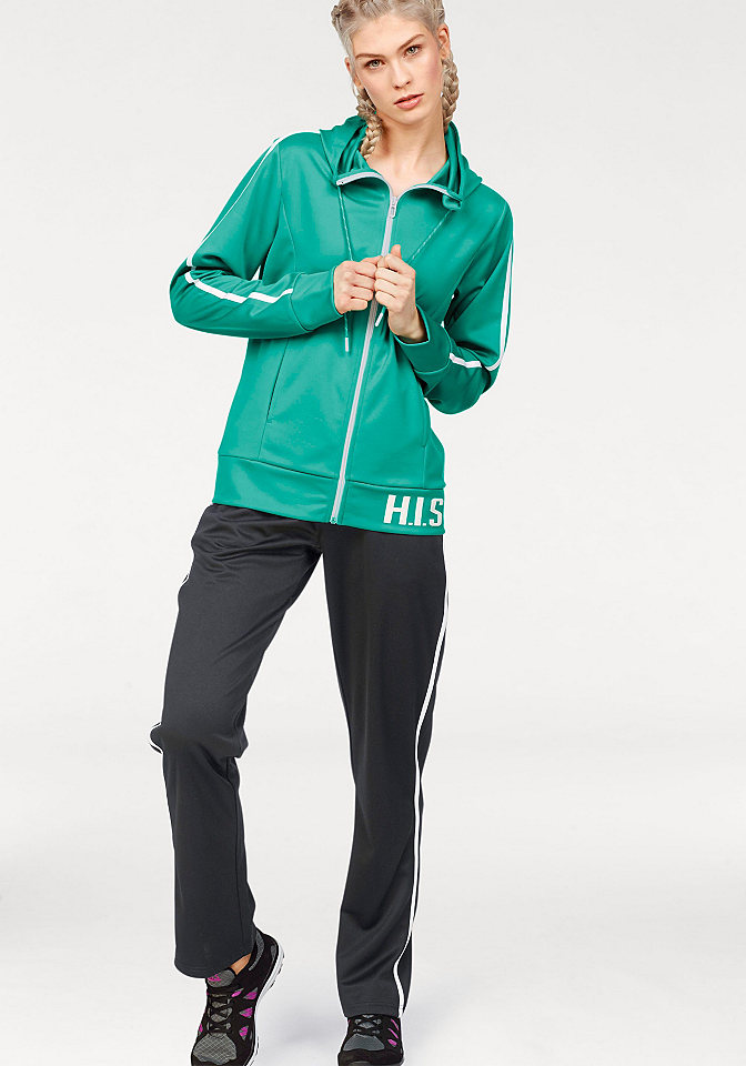 H.I.S H.I.S Sportovní souprava černá/bílá - standardní velikost 34