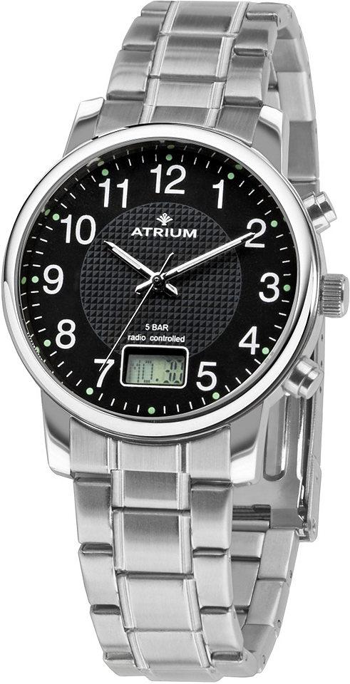 Atrium Rádiem řízené náramkové hodinky »A25-31«