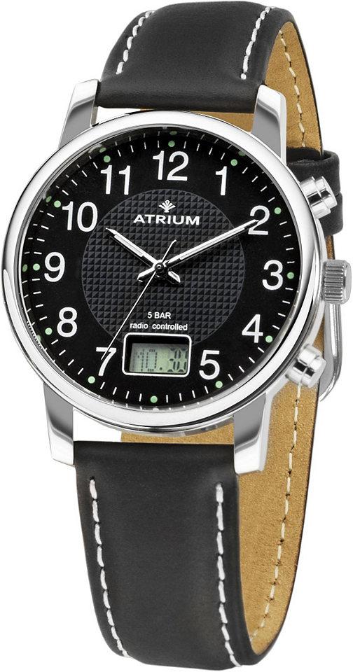 Atrium Rádiem řízené náramkové hodinky »A25-11«