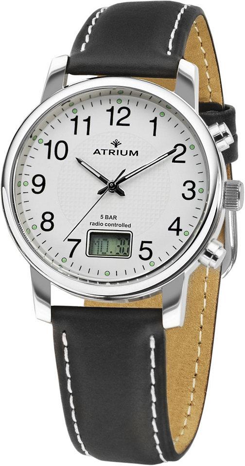 Atrium Rádiem řízené náramkové hodinky »A25-10«
