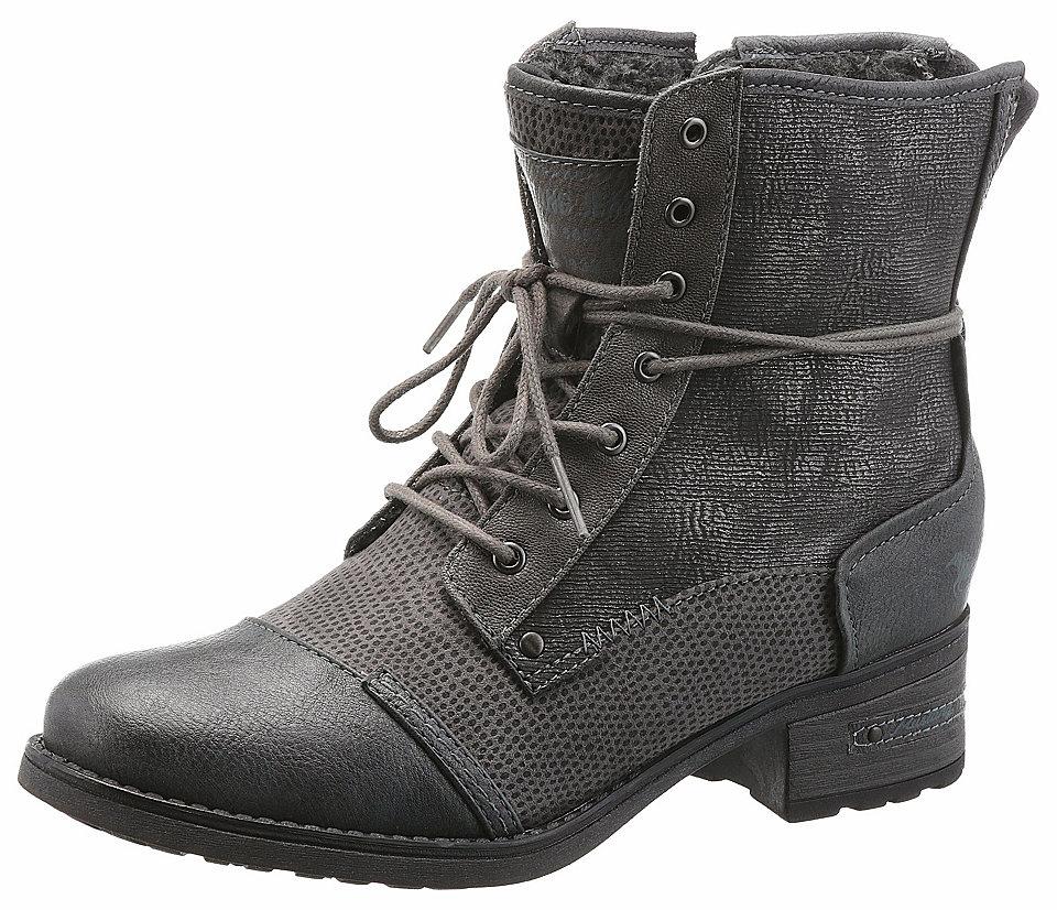 Mustang Shoes Šněrovací boty