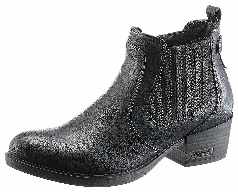 Mustang Shoes Mustang Shoes Western kozačky tmavě modrá - EURO velikost 39