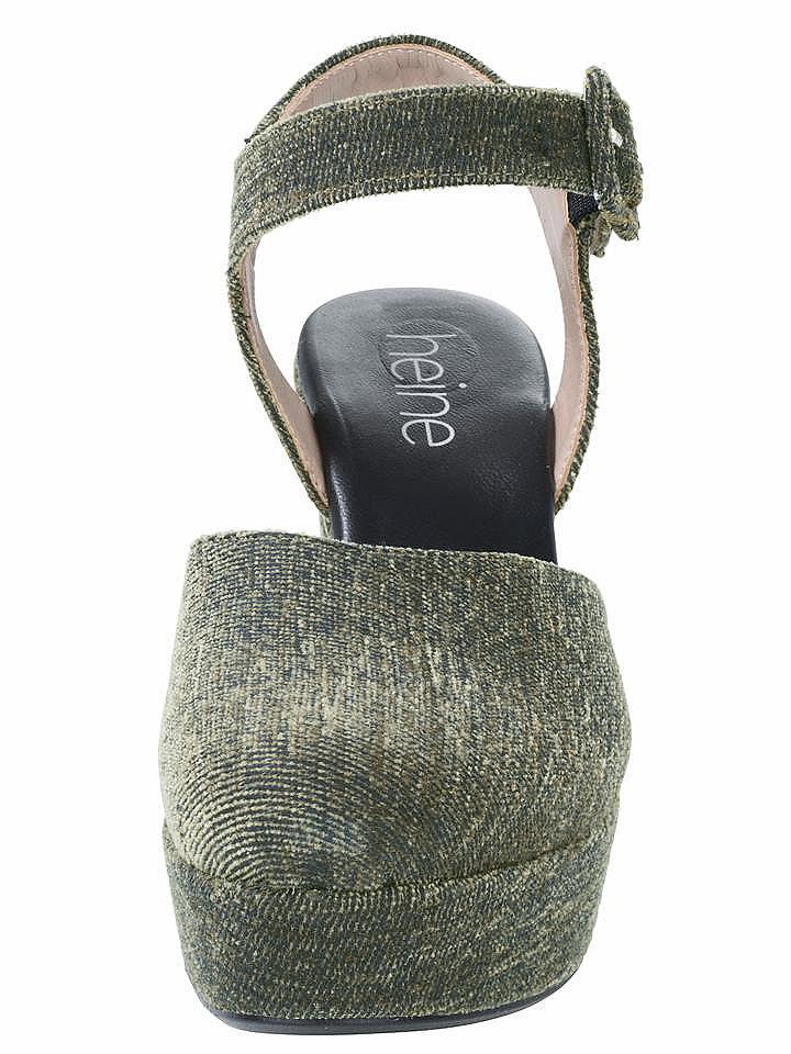 heine Sandály s vysokým podpatkem