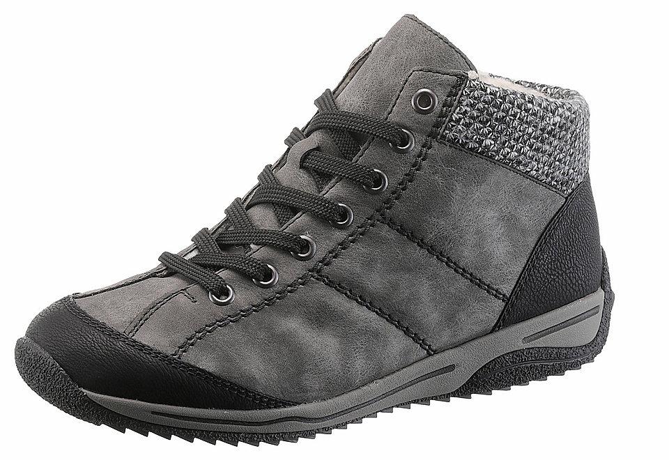 Rieker Rieker Zimní obuv šedá-černá - EURO velikost 42