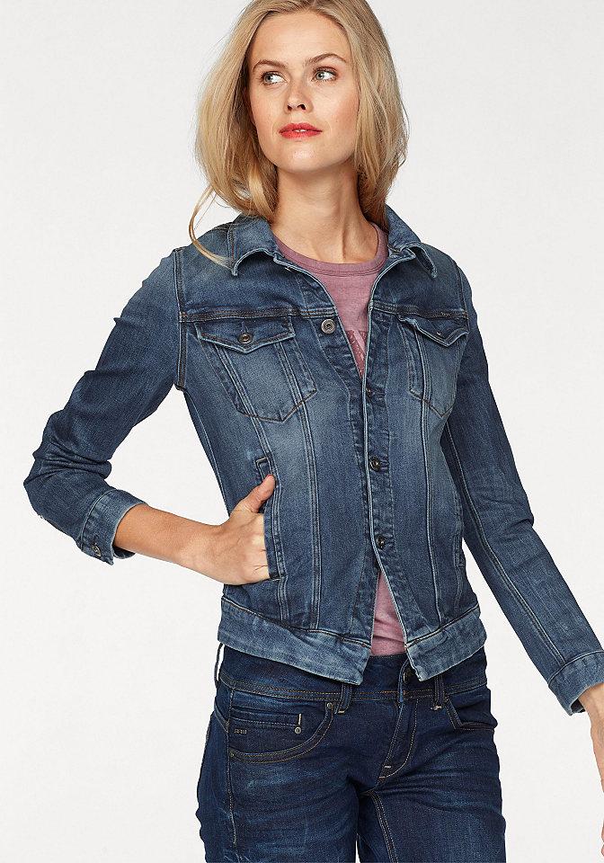 G-Star Riflová bunda »3301 denim jacket woman«