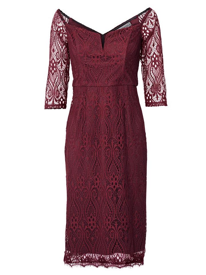 ASHLEY BROOKE by Heine Krajkové šaty ve stylu Carmen