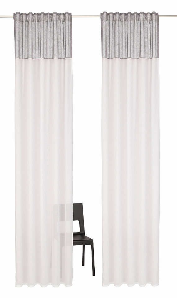 Záclona, Home affaire Collection »Riga« multifunkční pásek (2 ks)