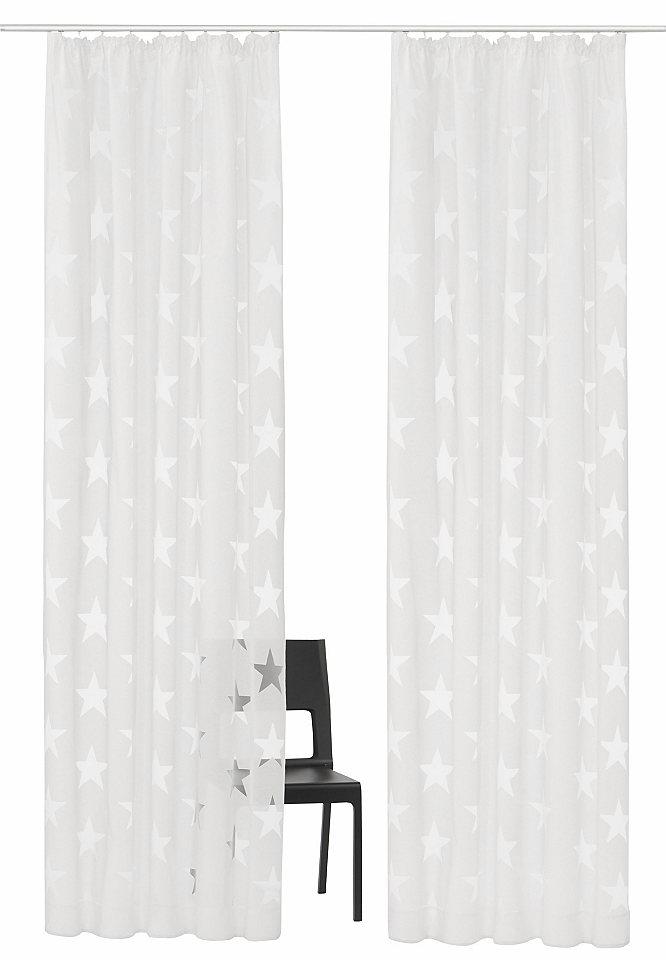 Záclona, My home Selection »Sassari« řasící stuha (2 ks)