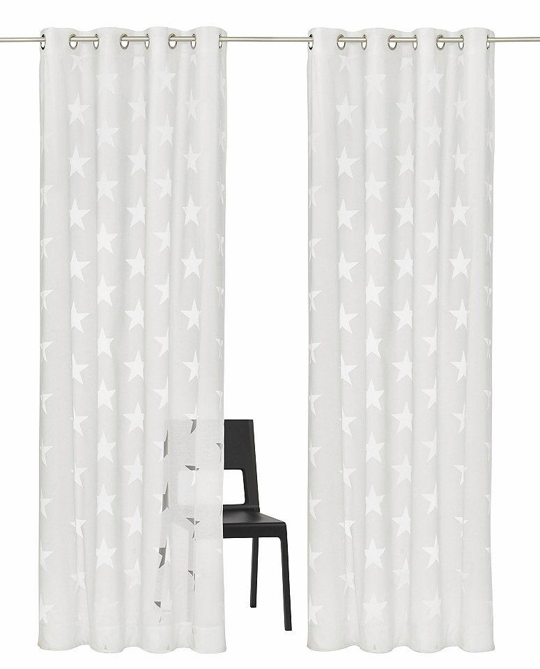 Záclona, My home Selection »Sassari« se smyčkami (2 ks)