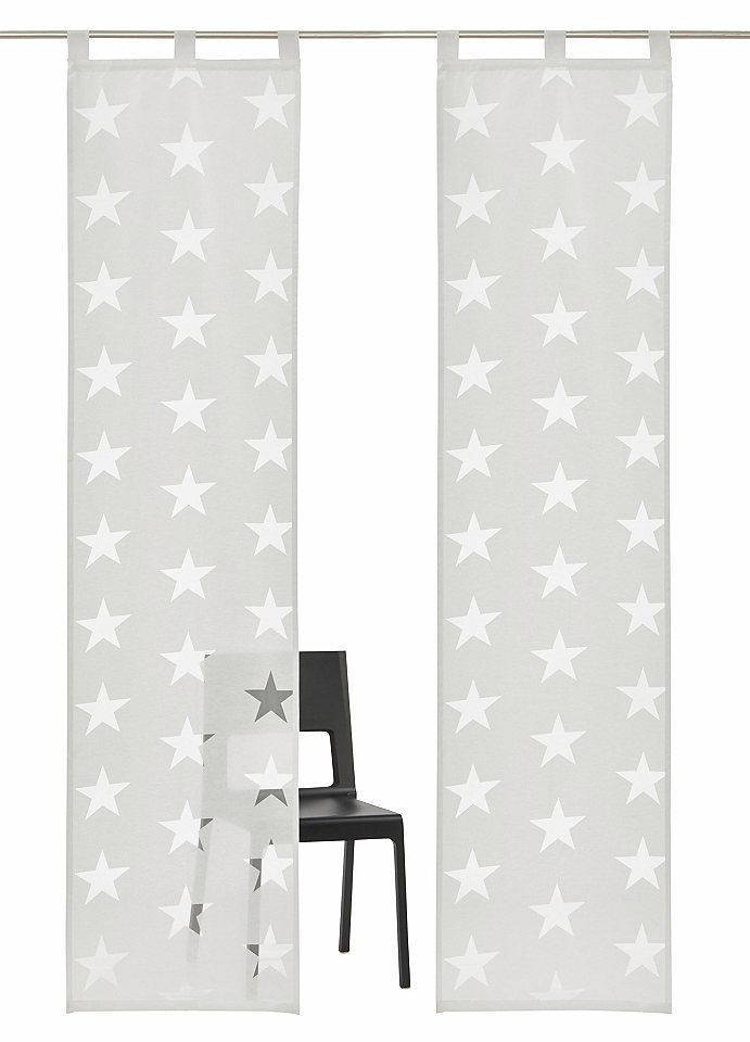 Krátká záclona, My Home Selection »Sassari« (2 ks s příslušenstvím)