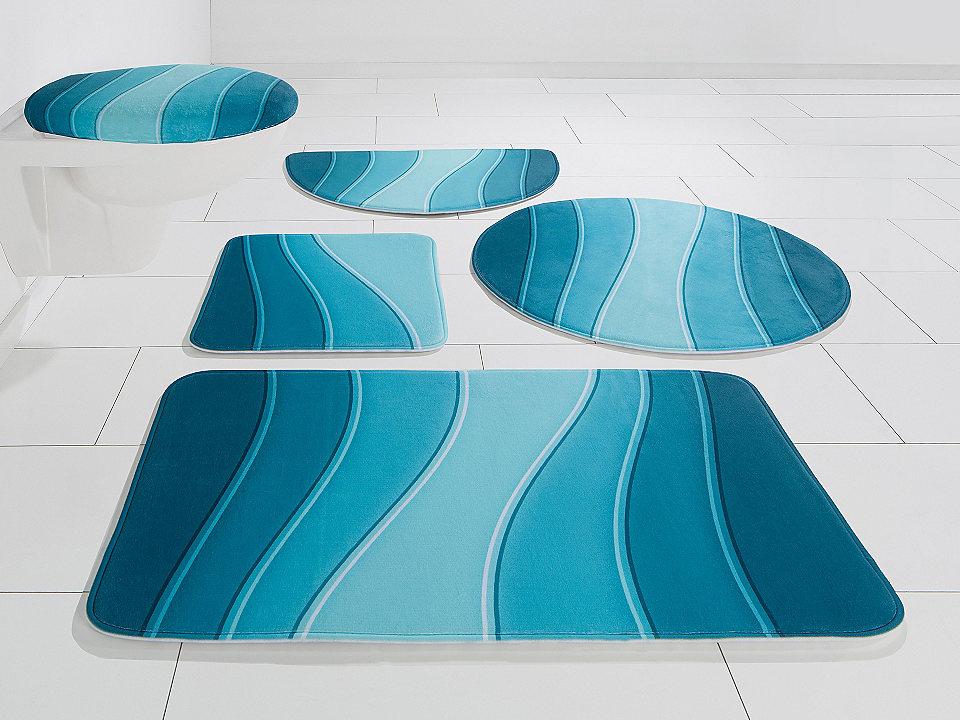 Koupelnová předložka, my home Selection, »Bora«, výška 14 mm, paměťová pěna