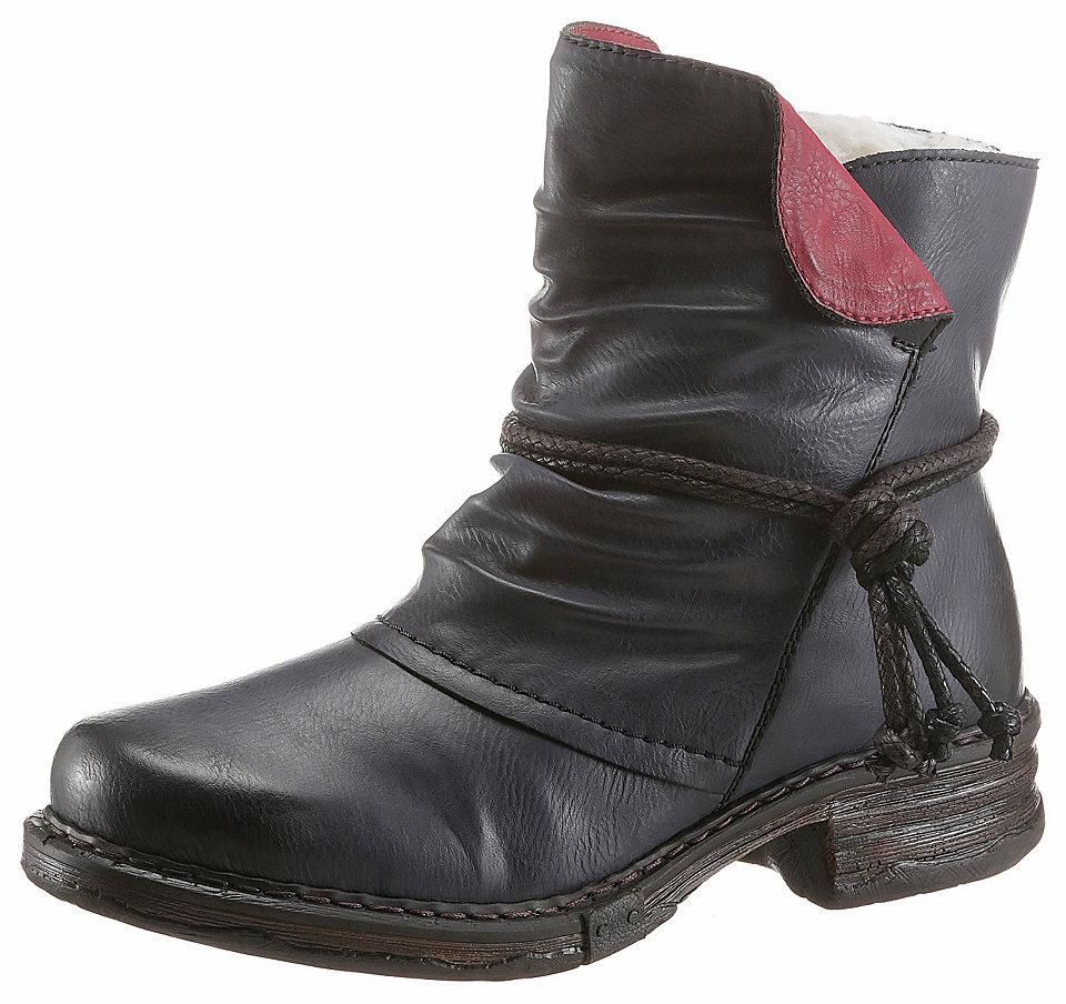 Rieker Rieker zimní kotníčková obuv šedá - EURO velikosti 38 (5)
