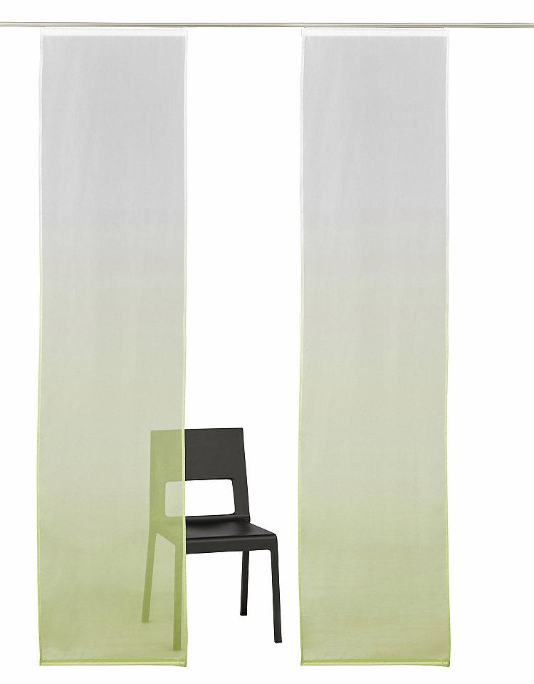 Panelový závěs, My Home »Fada« na suchý zip (2 ks bez příslušenství)