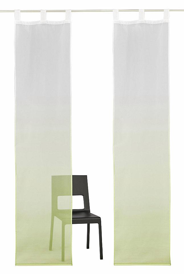 Panelový závěs, My Home »Fada« na suchý zip (2 ks s příslušenstvím)