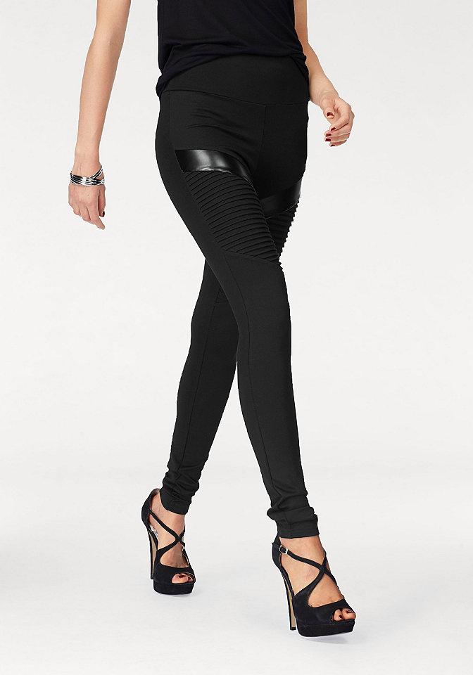 Melrose Melrose Legínové kalhoty černá - standardní velikost 44