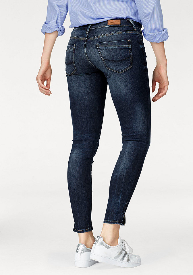 Cross jeans® Cross Jeans® Rifle Skinny deep-blue - standardní velikost 32