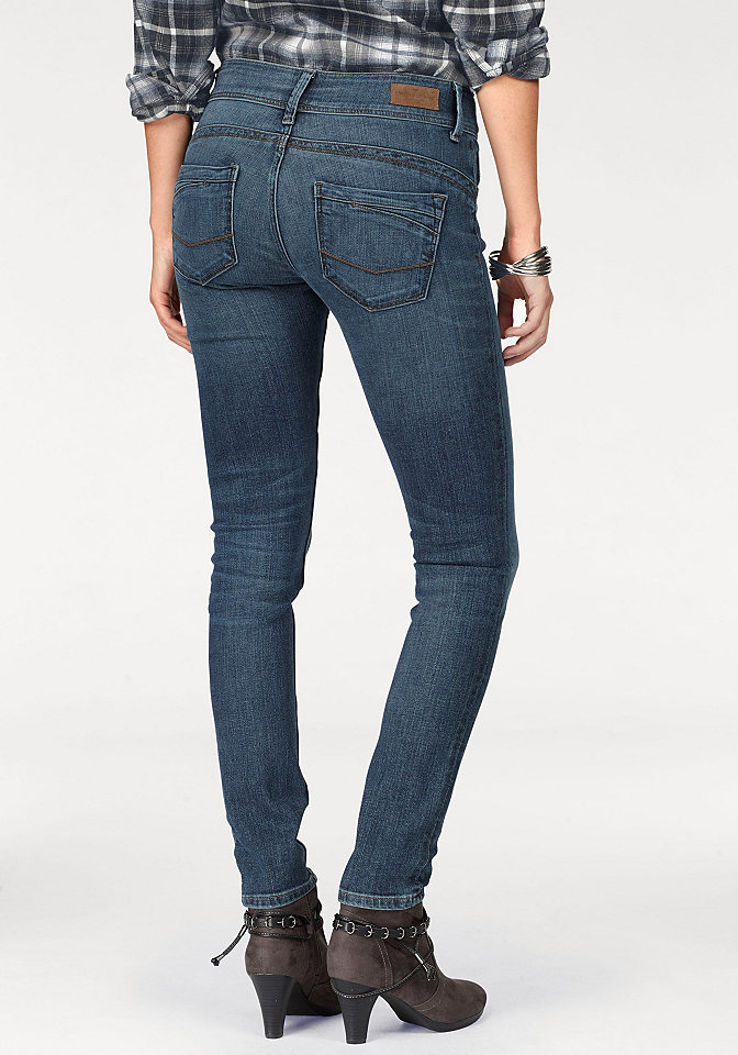 Cross jeans® Cross Jeans® Rifle ve střihu Skinny modrá - délka 30 cm 30